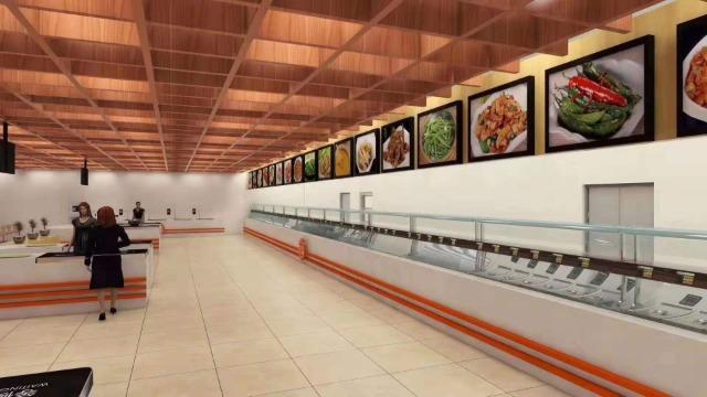 政企食堂设计