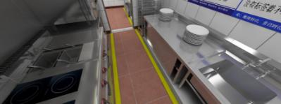 餐饮厨房工程、大型餐饮厨房工程解决方案