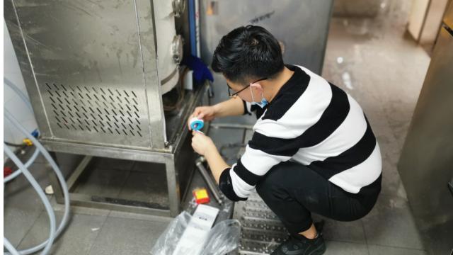 广州烟草市局食堂工程合作案例