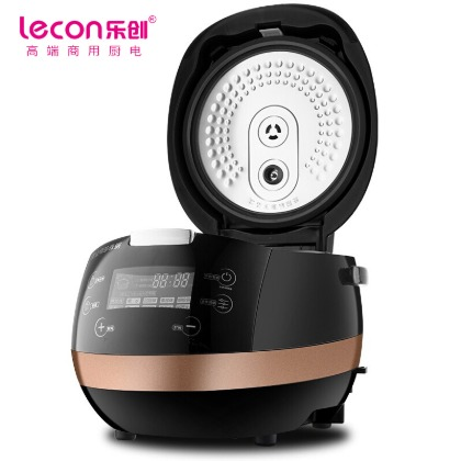 lecon乐创珍珠锅商用奶茶设备全自动大容量商用蒸煮锅西米芋圆珍珠不粘锅ANS-886
