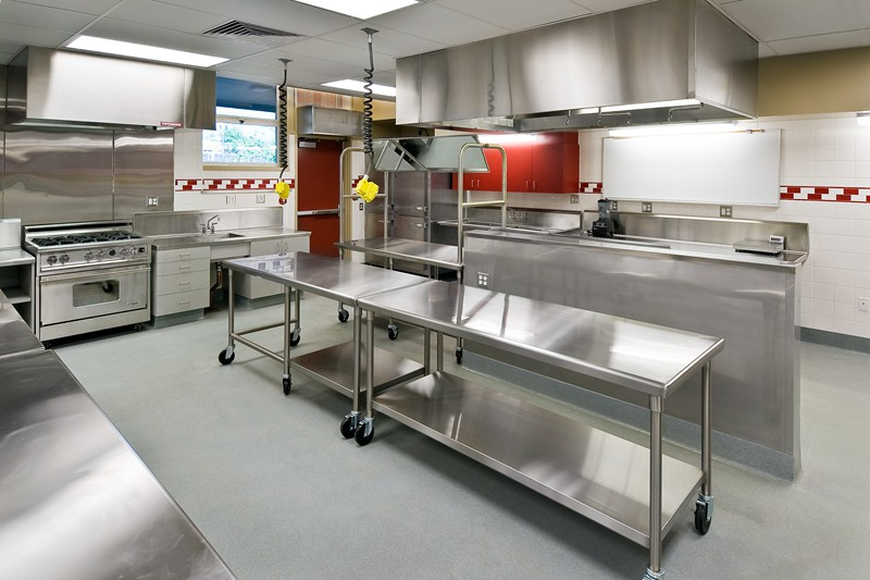 酒店厨房工程效果图
